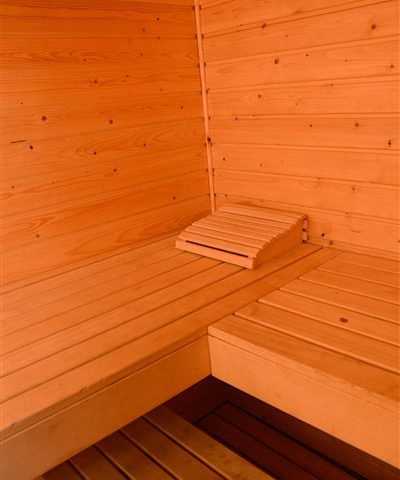 Groepshuis Hiekerhoes met sauna in Drenthe.