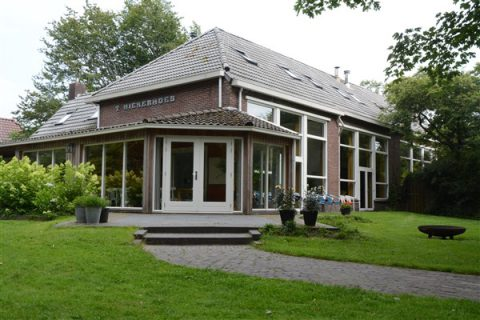 tuin Hiekerhoes 12 - Groepsaccommodatie en vergaderlocatie HiekerHoes Drenthe